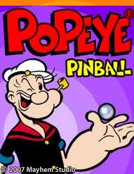 Popeye pinball